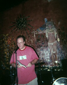 Gordon July at the Hooka